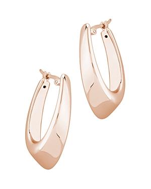 Medium Hoop Earrings in 14K Rose Gold