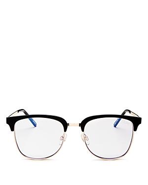Quay Sunglasses WOMEN'S EVASIVE ROUND SUNGLASSES, 49MM