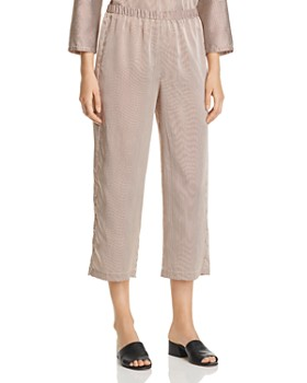 Eileen Fisher - Striped Crop Pants