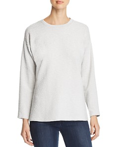 Eileen Fisher - Textured Crewneck Sweater