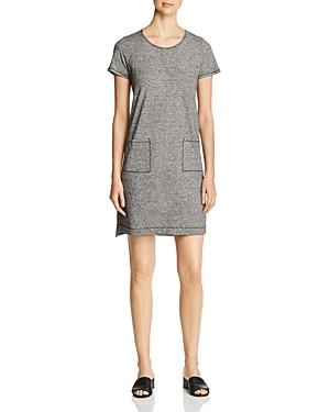 Eileen Fisher Dresses MICRO-STRIPE POCKET DRESS