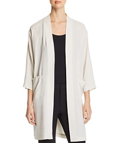 Eileen Fisher - Silk Kimono Jacket