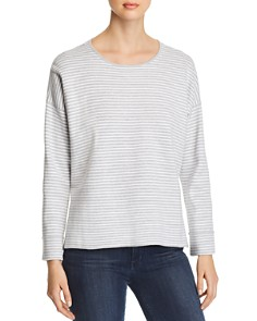 Eileen Fisher - Lightweight Striped Sweater