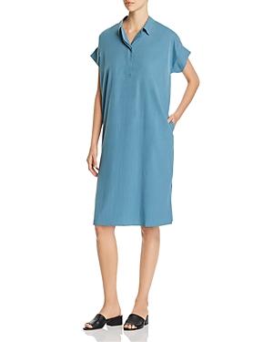 Eileen Fisher Dresses COLLARED SHIFT DRESS