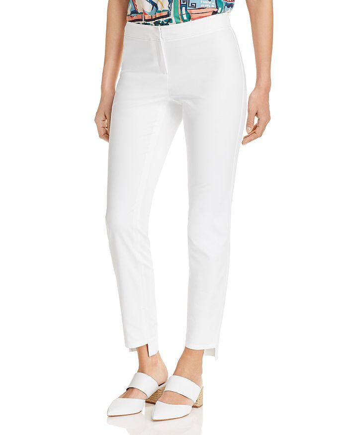 Lafayette 148 New York - Manhattan Slim Step-Hem Pants