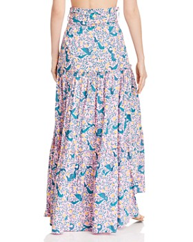 Banjanan - Discovery Floral Tiered Skirt