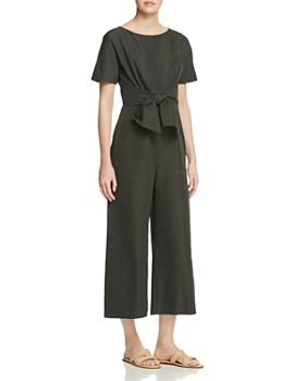 Weekend Max Mara - Zina Wide Leg Tie-Detail Jumpsuit
