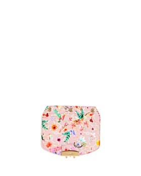 Furla - MY PLAY Interchangeable Metropolis Mini Floral-Print Leather Flap