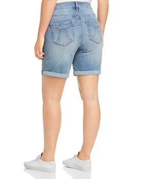 Seven7 Jeans Plus - Weekend Bermuda Denim Shorts in Special Wash
