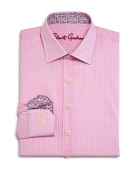 Robert Graham - Boys' Lester Checked Dress Shirt - Big Kid
