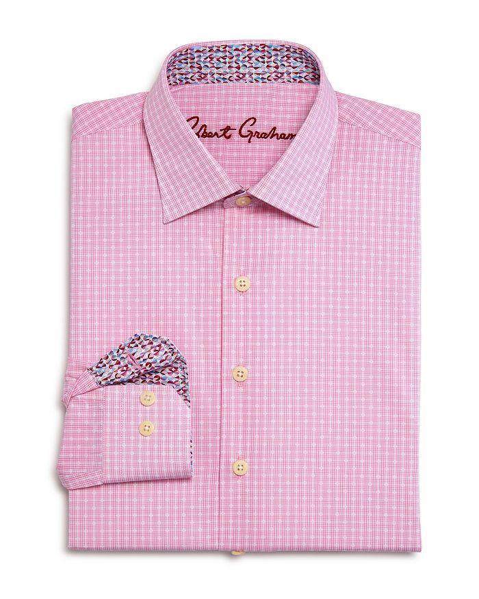 Robert Graham - Boys' Lester Checked Dress Shirt - Big Kid