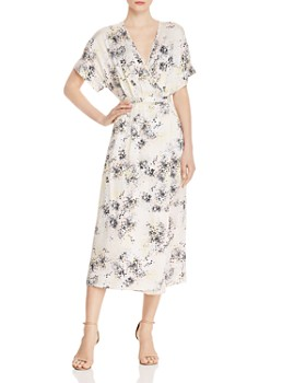 Equipment - Tavine Silk Maxi Wrap Dress