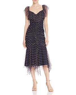 Alice McCall - Venus Scalloped-Embroidery Midi Dress