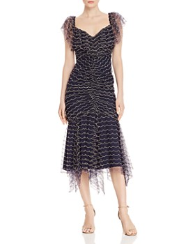 Alice McCall - Venus Scalloped-Embroidery Midi Dress