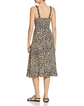 Faithfull the Brand - Noemie Leopard-Print Midi Dress