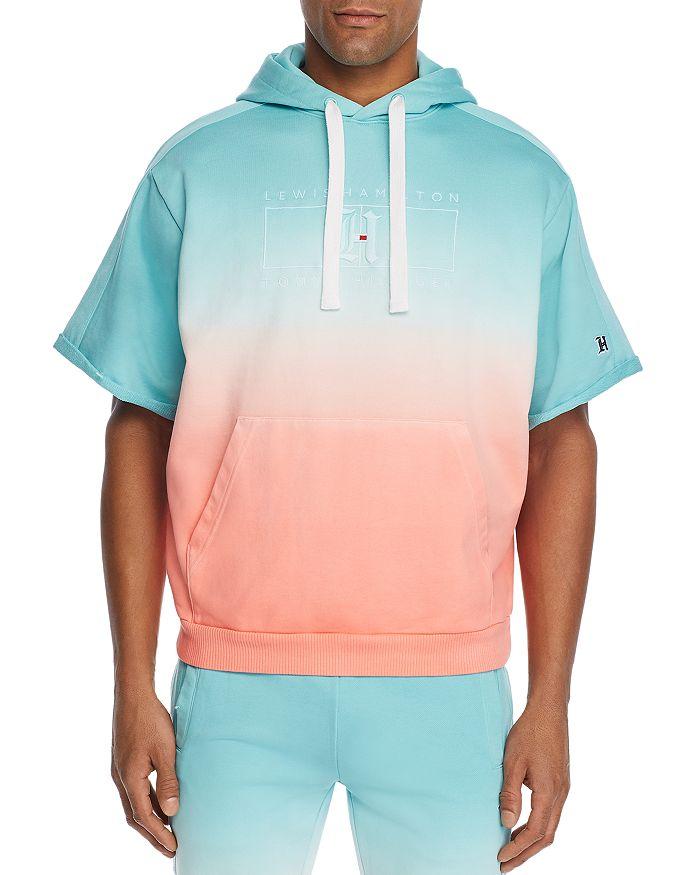 Tommy Hilfiger - x Lewis Hamilton Ombré Short-Sleeve Hooded Sweatshirt