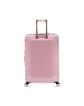 Ted Baker - Elegant Pink 4-Wheel Trolley Case, Large