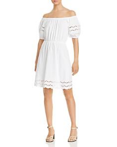 kate spade new york - Scalloped-Hem Dress