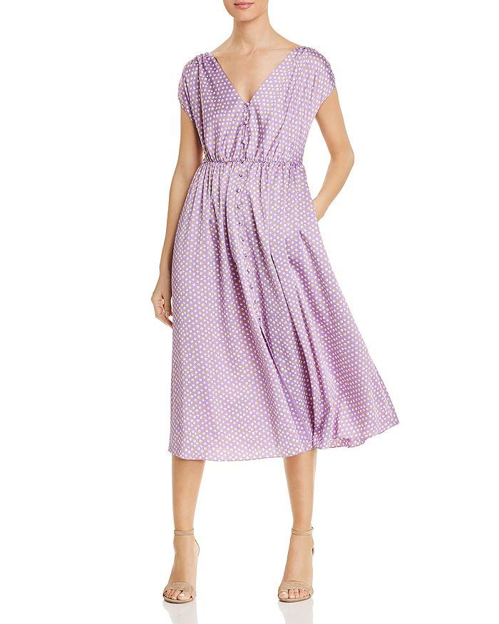 kate spade new york - Geo Dot Midi Dress