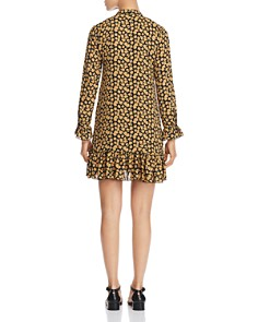 Scotch & Soda - Crepe Floral-Print Shift Dress