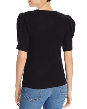 Minnie Rose - Puff-Sleeve Sweater