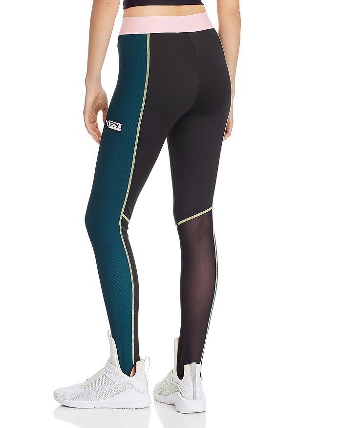 9c7230bc13a253 PUMA TZ High-Rise Color-Block Leggings | Bloomingdale's