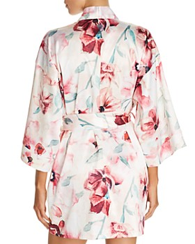 Hanky Panky - Get Ready Floral Short Robe