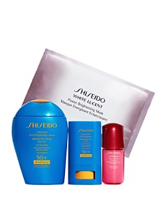 Shiseido - Protect & Play: The Active Sunscreen Gift Set ($96 value)