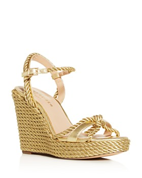 Kurt Geiger - Women's Neile Espadrille Platform Wedge Sandals
