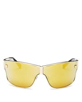 168a3e70a78 Versace - Men s Mirrored Shield Sunglasses