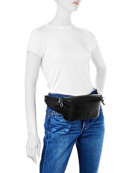 Longchamp - Croc-Embossed Leather Belt Bag