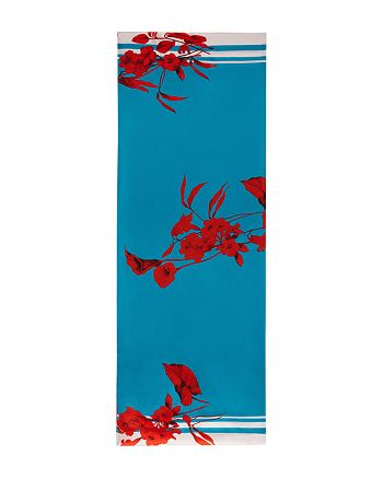 Ted Baker - Claudi Fantasia Floral Silk Cape Scarf