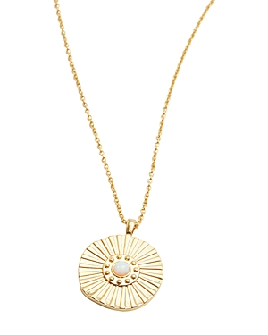 Gorjana Accessories SUNBURST COIN NECKLACE, 19
