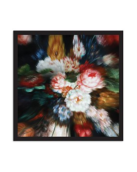 Art Addiction Inc. - Abstract Floral Wall Art  - 100% Exclusive