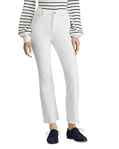 Ralph Lauren - Regal Flare Ankle Jeans in White