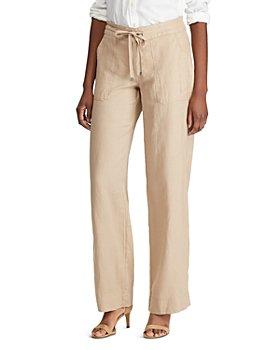 Ralph Lauren - Linen Wide-Leg Pants