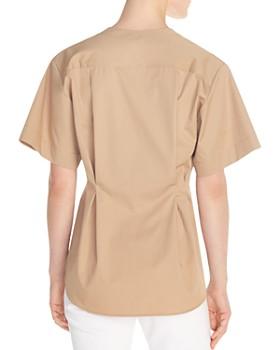 67bff7a33860ea Sandro - Honorine Pleated Cotton Shirt Sandro - Honorine Pleated Cotton  Shirt