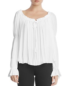 Bailey 44 - Beignet Tiered-Sleeve Georgette Top