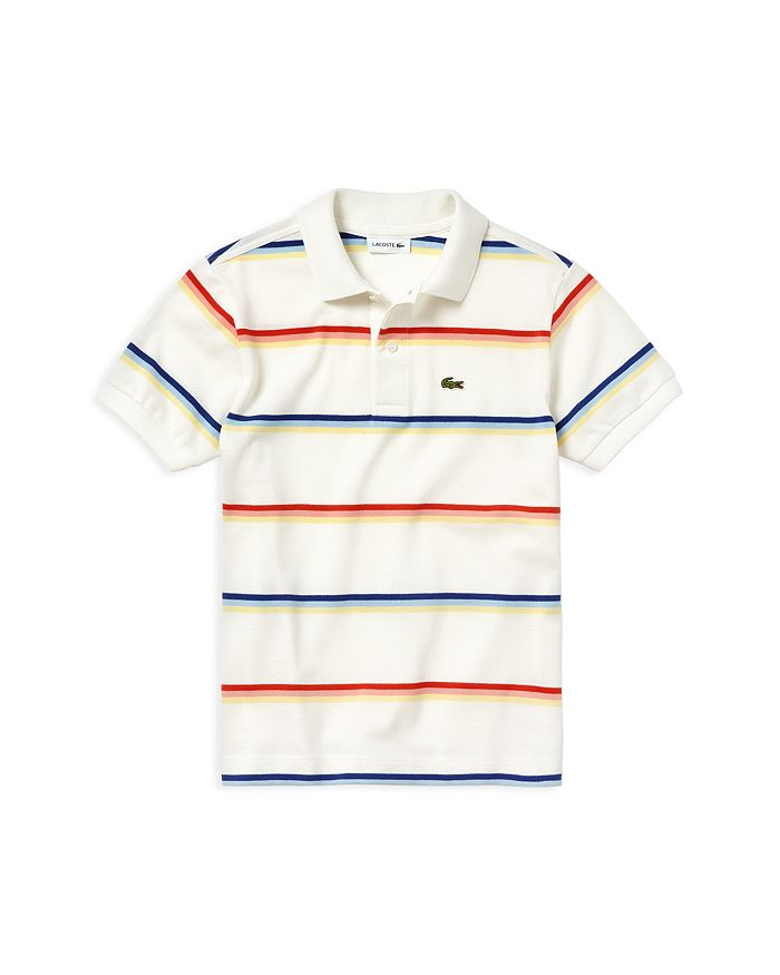 be0f4b88e Lacoste Boys' Striped Polo Shirt - Little Kid, Big Kid | Bloomingdale's