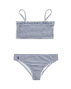 Ralph Lauren - Girls' Gingham Two-Piece Swimsuit - Big Kid