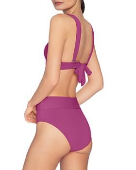 Robin Piccone - Buckled High-Waist Bikini Bottom