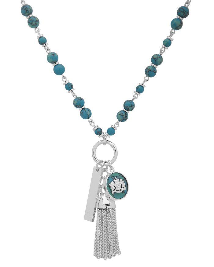 """Ralph Lauren - Multi Charm Pendant Necklace, 36"""""""