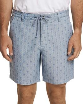 Robert Graham - Skull-Print Drawstring Regular Fit Shorts
