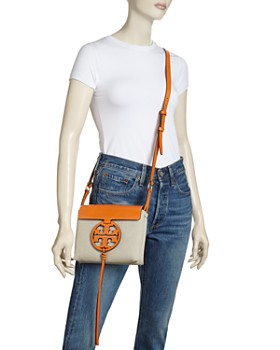 1939645d3ef9 ... Tory Burch - Miller Canvas   Leather Crossbody