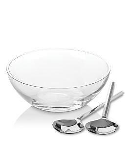 kate spade new york - Gramercy Salad Bowl Set with Metal Servers