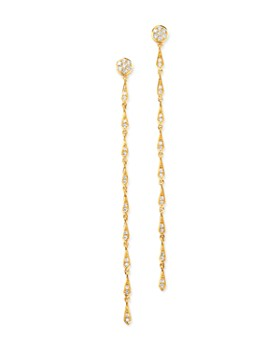 Madhuri Parson - 14K Yellow Gold Diamond Essentials Line Earrings