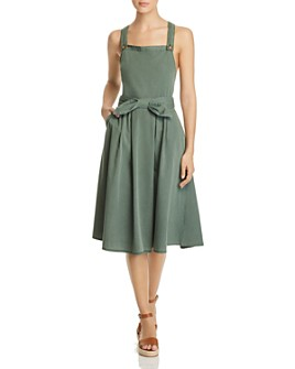 Vero Moda - Sleeveless Bow-Front Dress