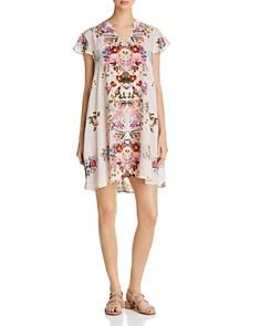 Tolani - A-Line Floral-Print Dress
