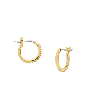 Gorjana Accessories SHIMMER HUGGIE HOOP EARRINGS