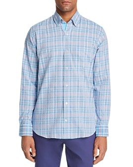 TailorByrd - Edsel Plaid Classic Fit Button-Down Shirt